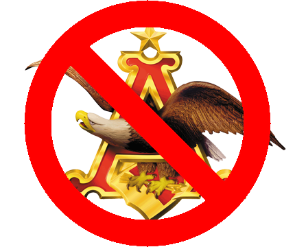 No Anheuser-Busch