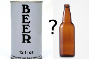 can vs. bottle
